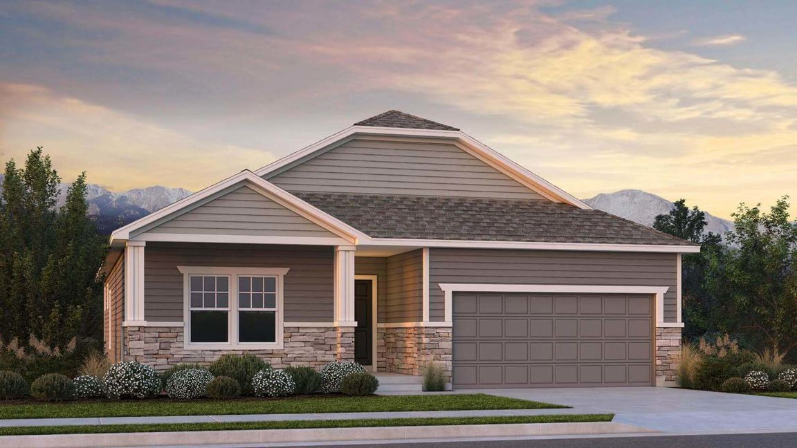 Ready To Build Home In Falcon Meadows at Bent Grass Community