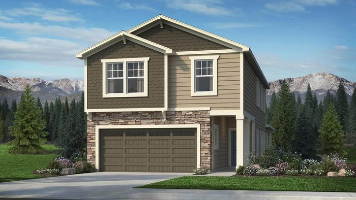 Ready To Build Home In The Enclaves at Mountain Vista Community