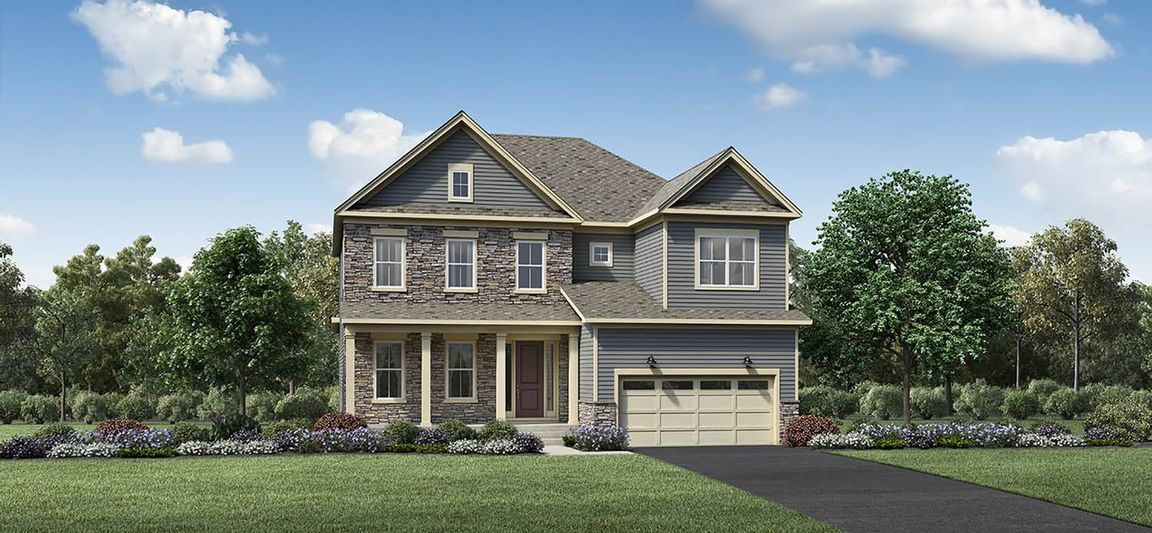 Ready To Build Home In Reserve at Emerson Farm - Heritage Collection Community