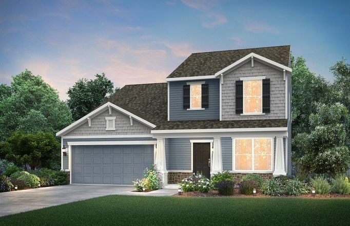 Ready To Build Home In Cherry Glen Community