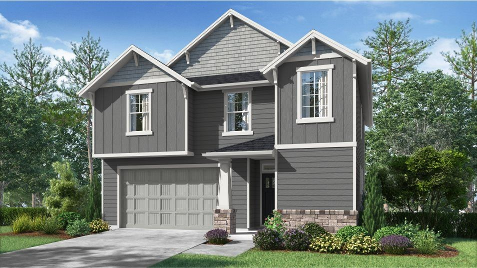 Ready To Build Home In Green Mountain by Lennar Community