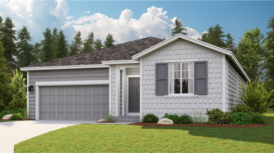 Ready To Build Home In Wellington Heights Community