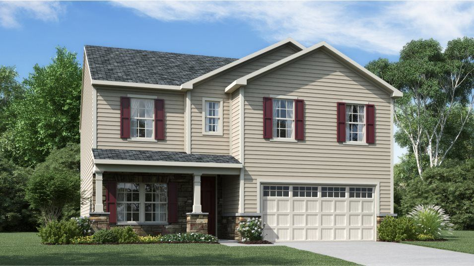 Ready To Build Home In Clifford Glen Community