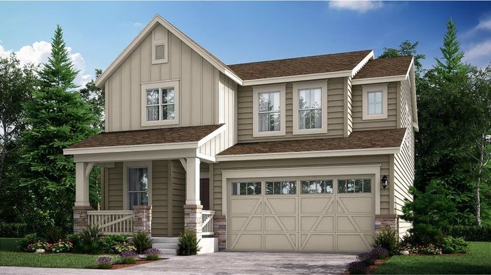Ready To Build Home In Wyndham Hill - The Pioneer Collection Community