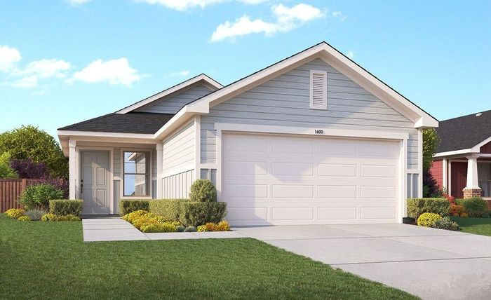 Ready To Build Home In Casinas at Prue Crossing Community
