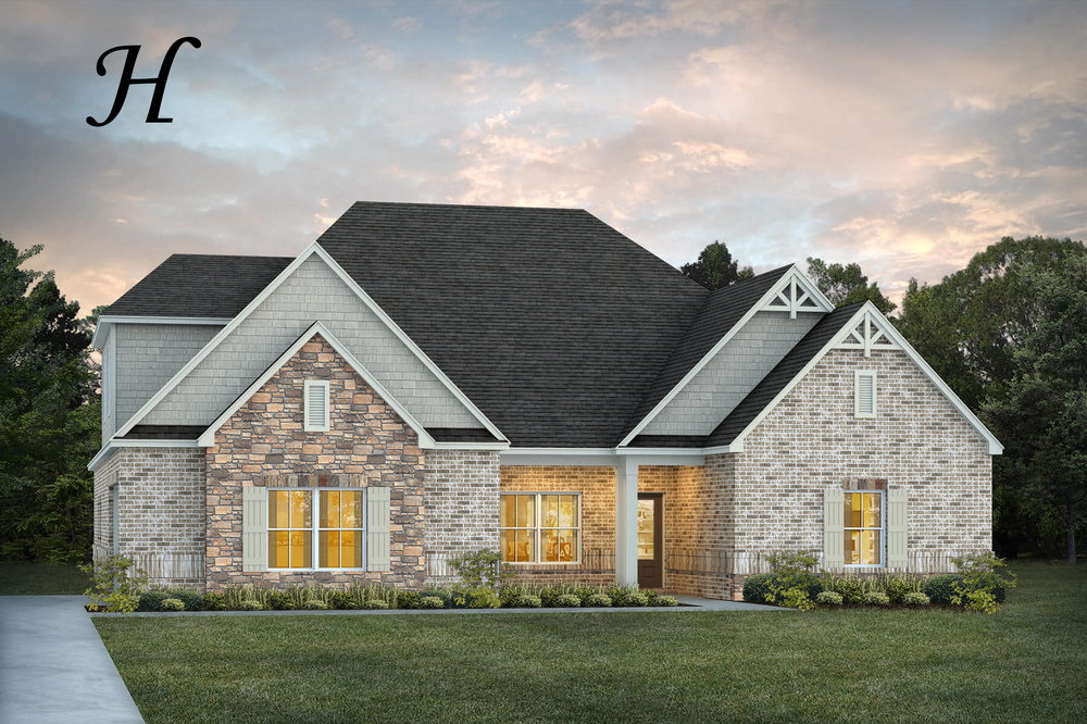Ready To Build Home In The Crossings Community