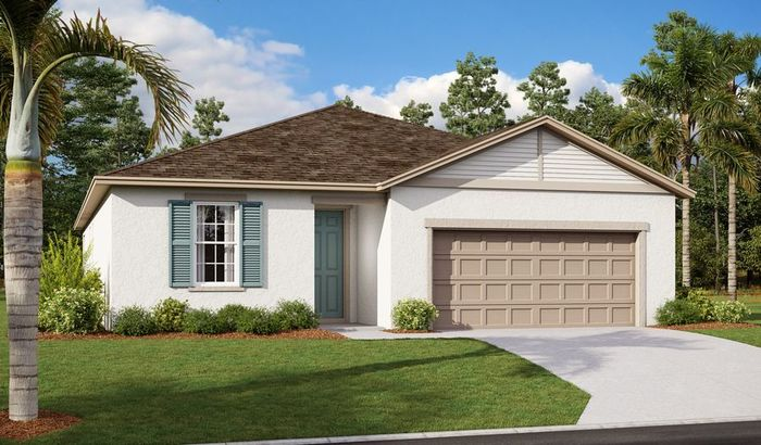 Ready To Build Home In Seasons at Lake Smart Pointe Community