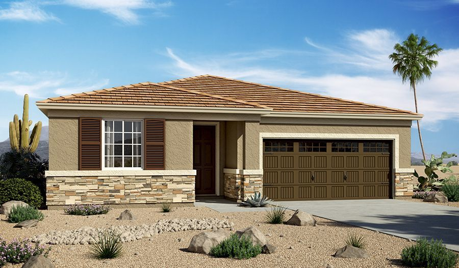 Ready To Build Home In Crestfield Manor II Community