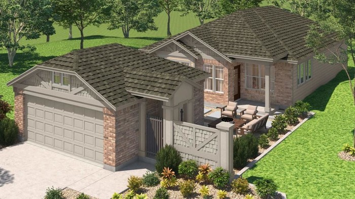 Ready To Build Home In Pecan Park Community