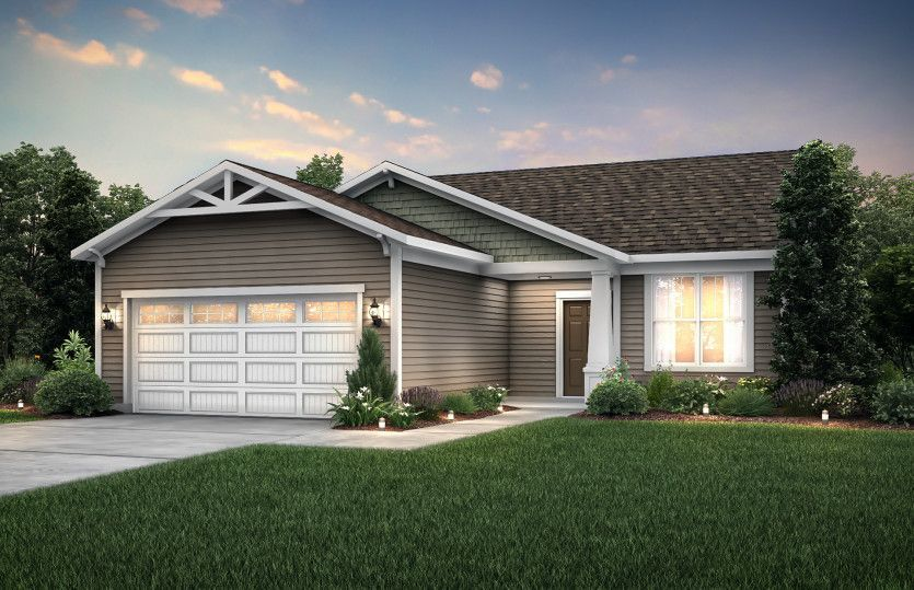 Ready To Build Home In The Retreat at Liberty Lakes Community