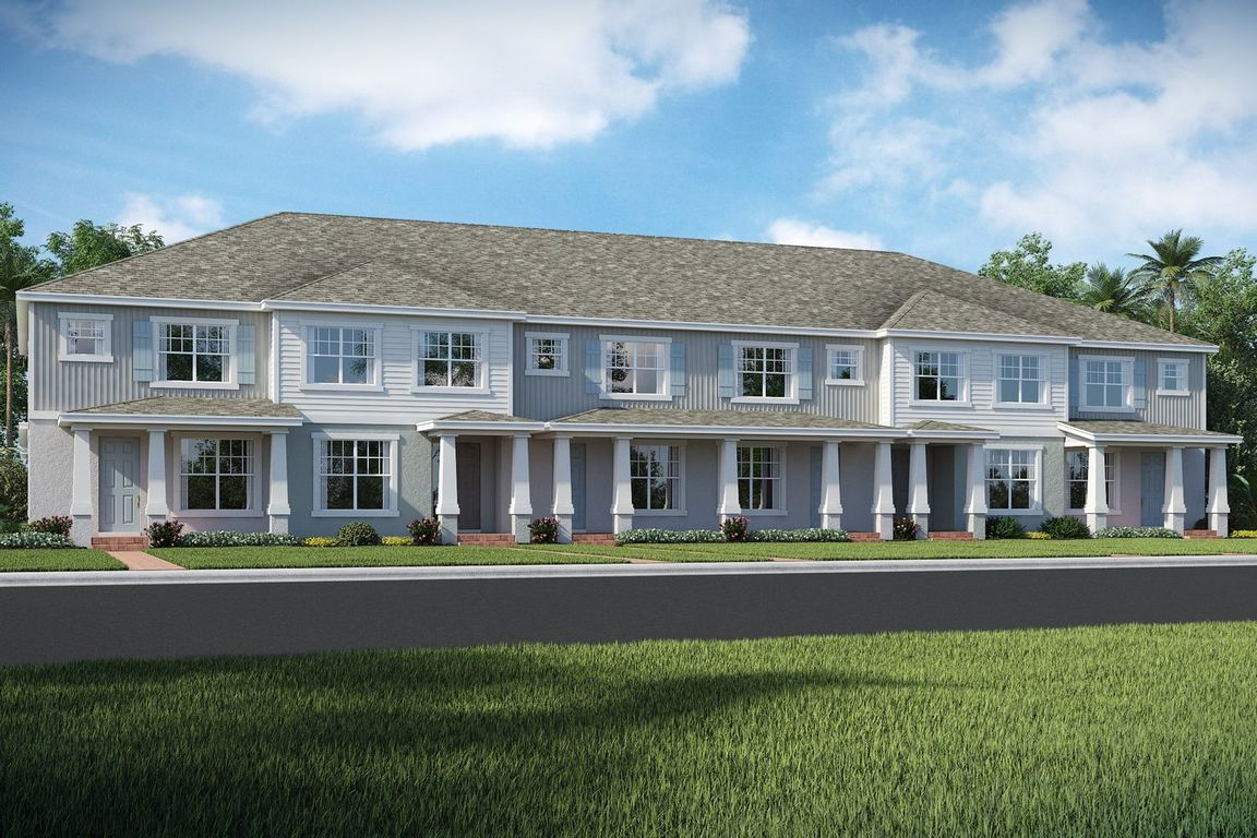 Ready To Build Home In Winding Bay Townhomes Community