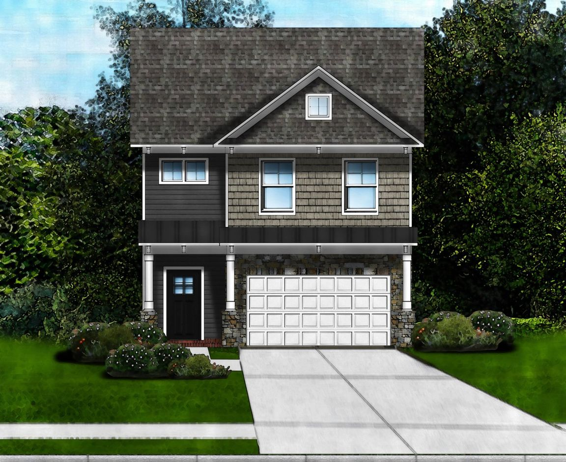 Ready To Build Home In Highland Park Community