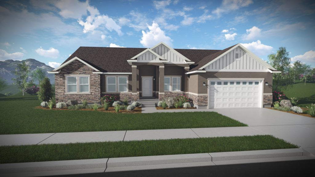 Ready To Build Home In Mountain Ridge Community