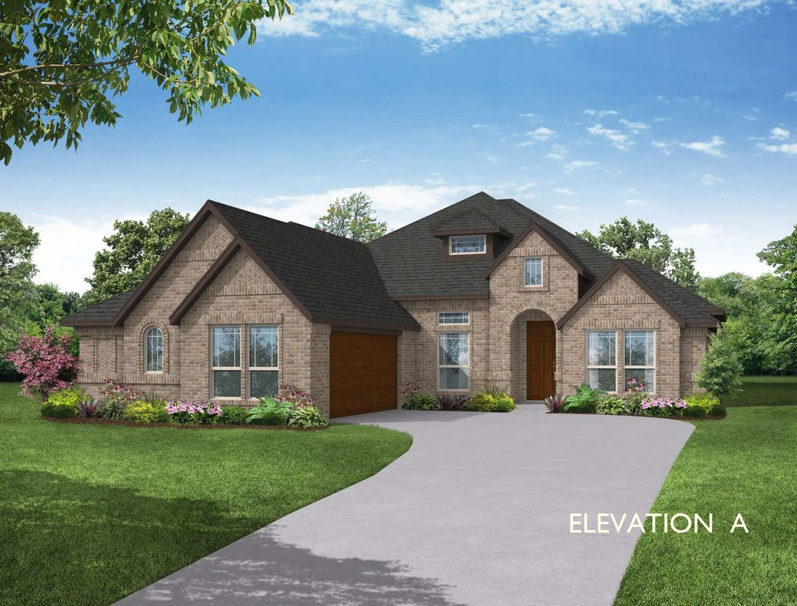 Ready To Build Home In Pheasant Crossing Community