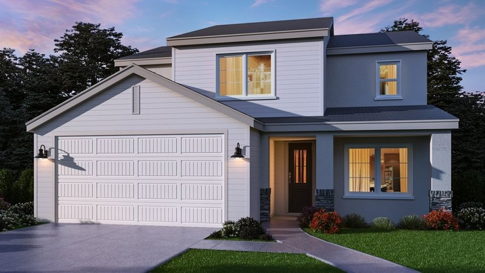Ready To Build Home In River Island Ranch - Coronet Series Community