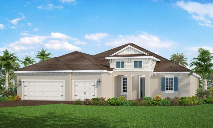 Ready To Build Home In Grand Park Community