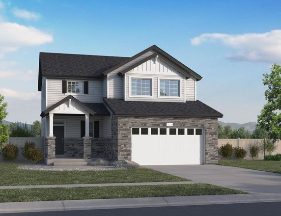 Ready To Build Home In Erie Highlands Community