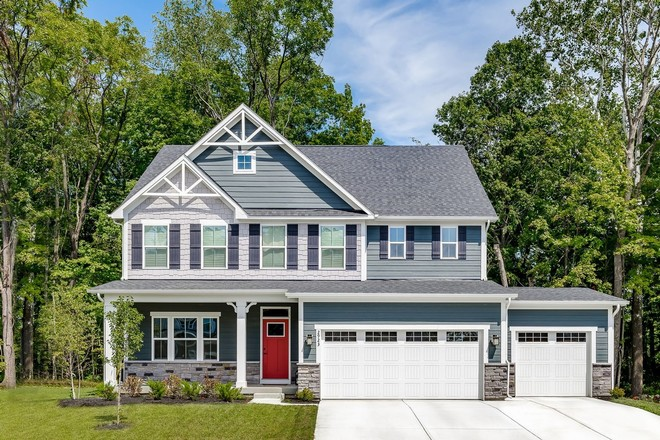 Ready To Build Home In Emory Trace Community