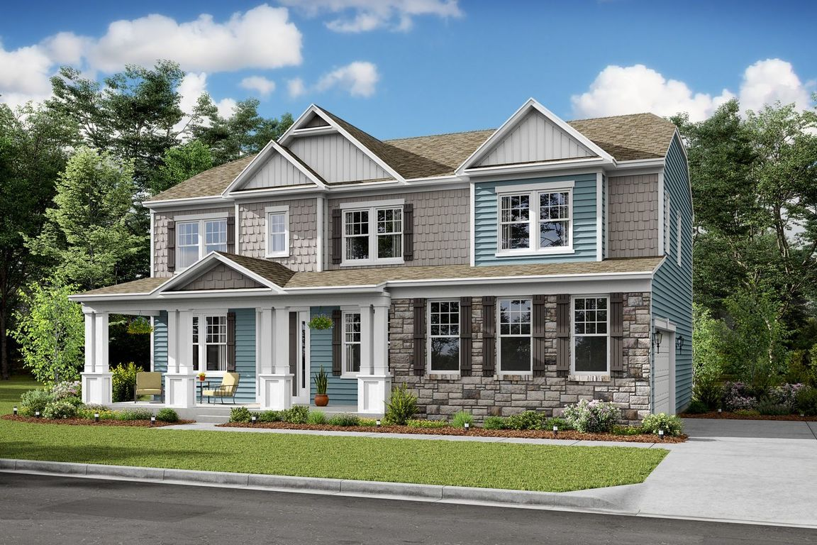 Ready To Build Home In Townsend Fields Community