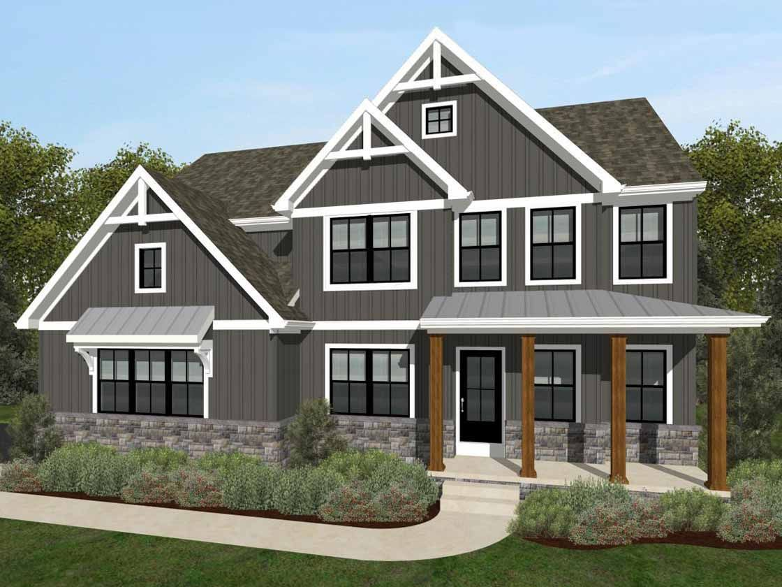 Ready To Build Home In Kensington Community