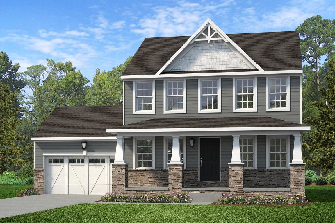 Ready To Build Home In Retreat at Boyertown Farms Community