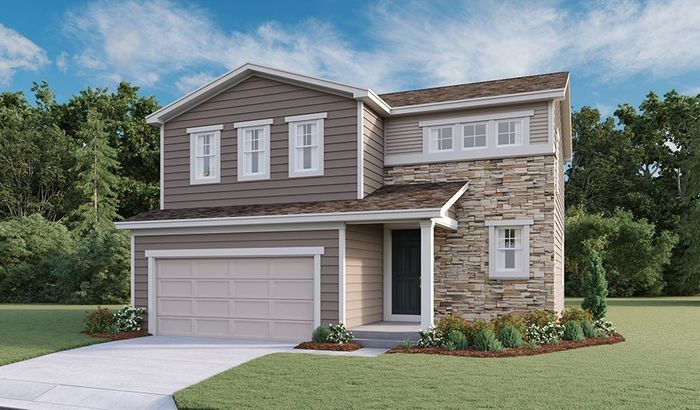 Ready To Build Home In Seasons at Buffalo Grass at Homestead at Crystal Valley Community
