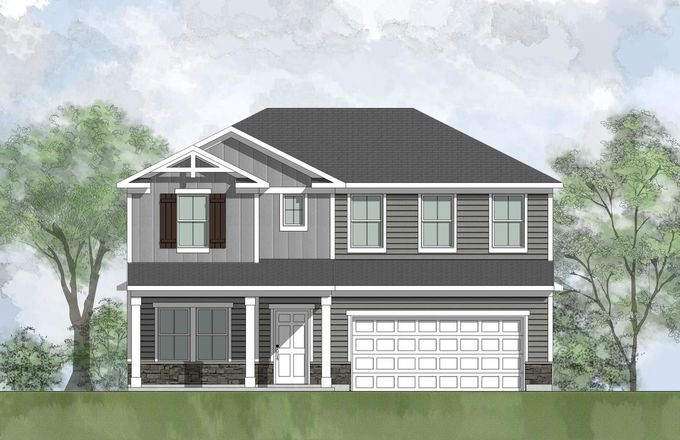 Ready To Build Home In Panther Creek Preserve Community
