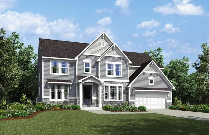 Ready To Build Home In Traemore Overlook Community