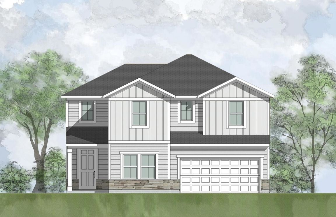 Ready To Build Home In Eagle Landing - Eagle Rock 50' Community