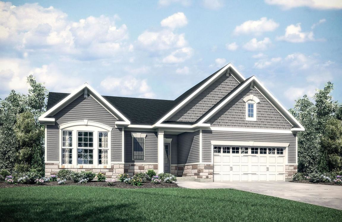 Ready To Build Home In Enclave at South Ridge II Community