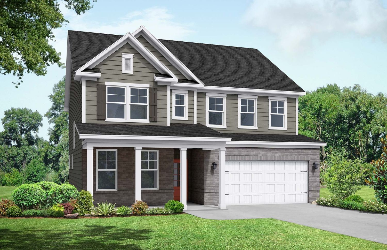 Ready To Build Home In Sierra Heights Community
