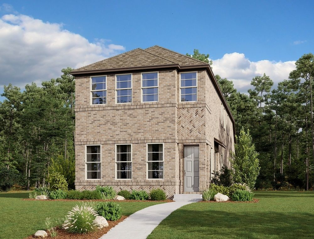 Ready To Build Home In Urban Trails Cottages Community