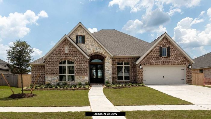Move In Ready New Home In Fulbrook on Fulshear Creek 80' Community