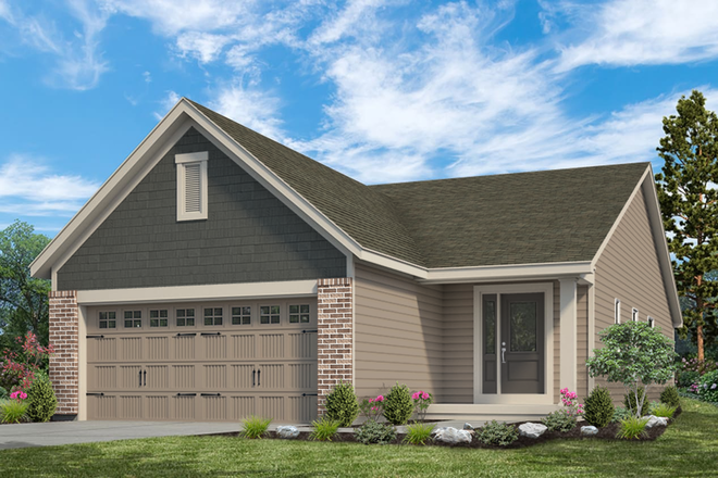 Ready To Build Home In Windswept Farms - Villas Community