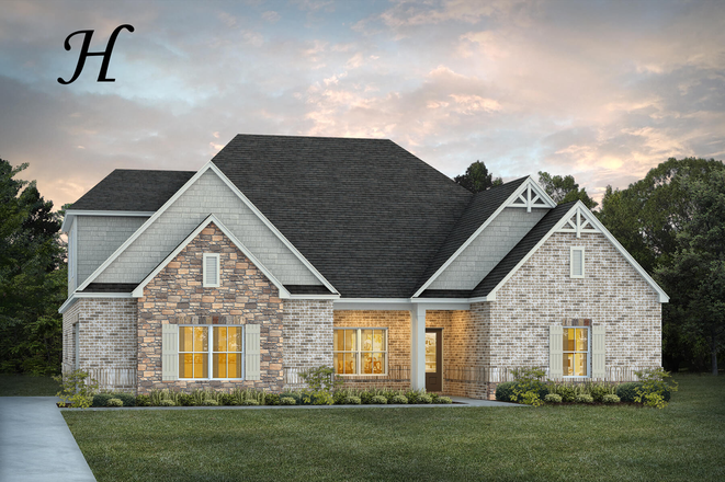 Ready To Build Home In Coventry Community