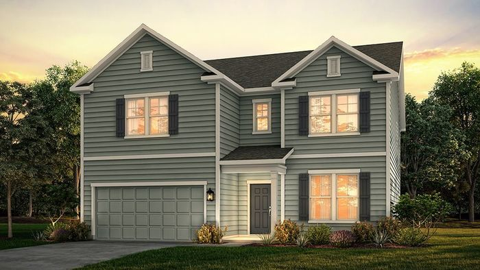 Ready To Build Home In Northridge Community