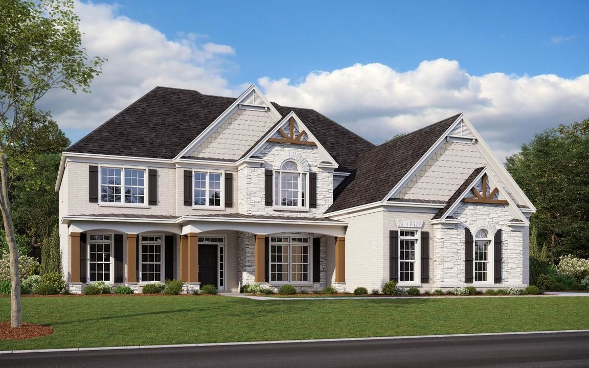 Ready To Build Home In Grand Reserve Community