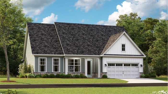 Ready To Build Home In Kindleton Community