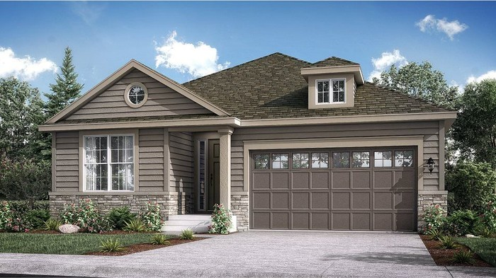 Ready To Build Home In Meadowbrook Heights - The Monarch Collection Community