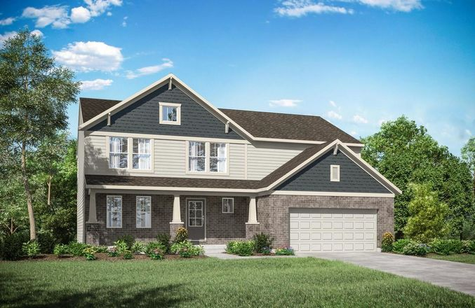 Ready To Build Home In Stonewater Reserve Community