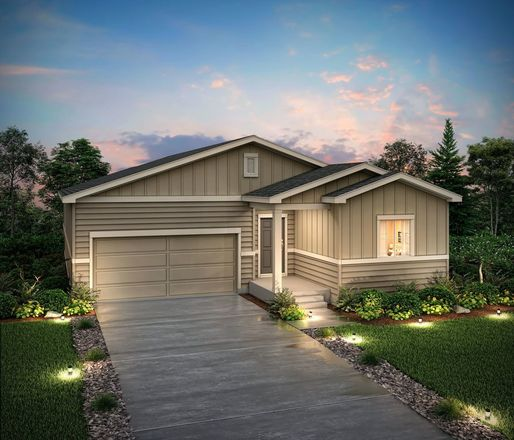 Ready To Build Home In Anthology Community