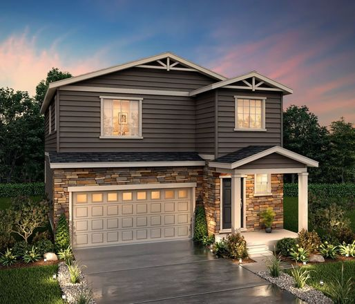 Ready To Build Home In Homestead at Crystal Valley Community