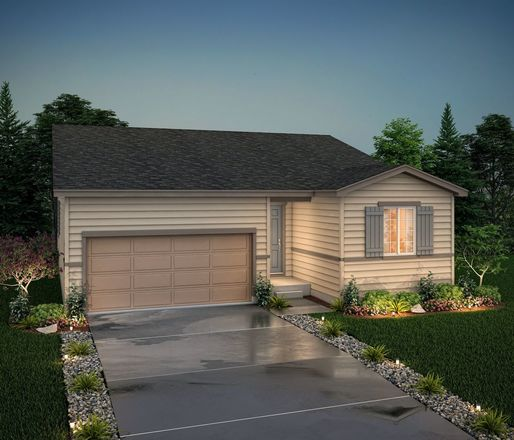 Ready To Build Home In Silverstone Community