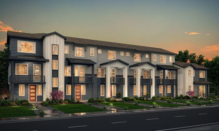 Ready To Build Home In Pearson Grove Townhomes Community
