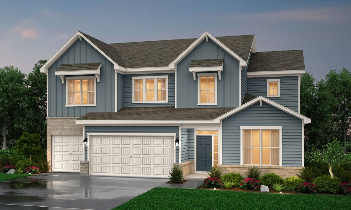 Ready To Build Home In Creek Bend Community