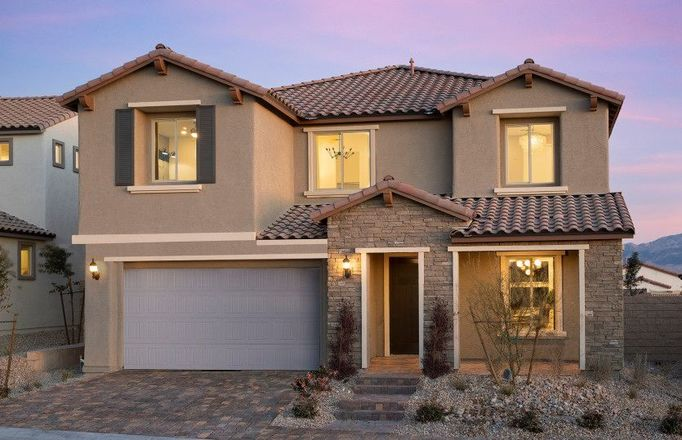 Ready To Build Home In Pinewood at Skye Canyon Community