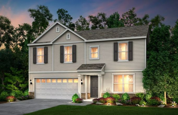 Ready To Build Home In Tallmadge Reserve Community
