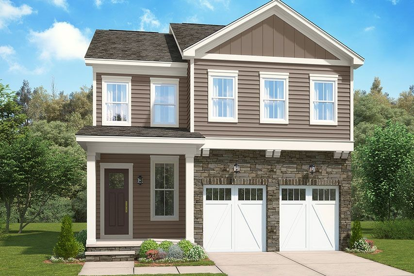 Ready To Build Home In The Residences at West Village Community