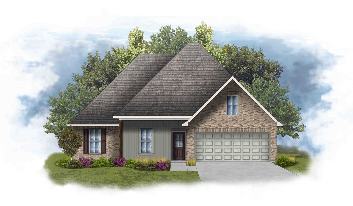 Ready To Build Home In Choctaw Ridge Community