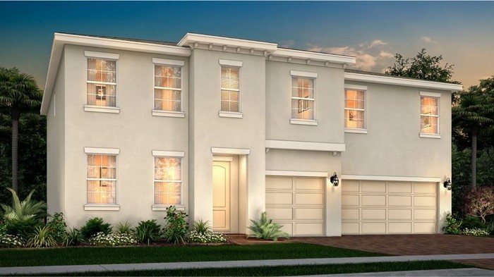Ready To Build Home In BellaSera - Bellisima Collection Community